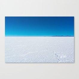 Salt Flats, Salar de Uyuni, Bolivia Canvas Print