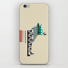 Fox With Tribal Pattern iPhone & iPod Skin