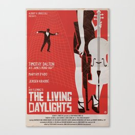 THE LIVING DAYLIGHTS Canvas Print