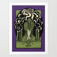 occult Art Prints featuring Occult by Art of Kadath