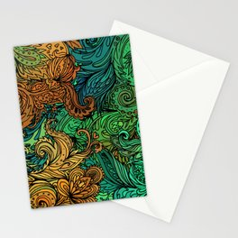 Indian Pattern 02 Stationery Cards