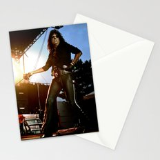 Alice Cooper Fence Stance Stationery Cards
