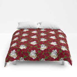 Heart and Roses Comforters
