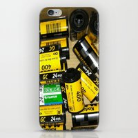 film iPhone & iPod Skins featuring Film by mchlsrr