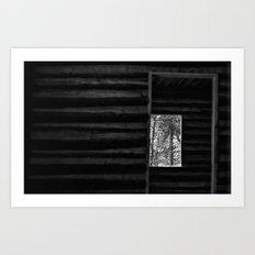 Crooked Doorways and Empty Rooms Art Print