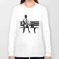 forrest gump Long Sleeve T-shirts featuring Forrest Gimp by Jon Spagnola