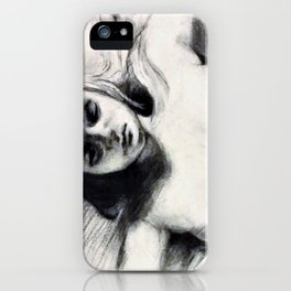 Eating Disorder Self Nude iPhone Case