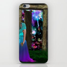 Keeper of the universe iPhone Skin