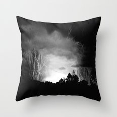 Coming Out Of The Darkness Throw Pillow