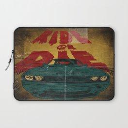 MEKANO TURBO/ride or die poster Laptop Sleeve