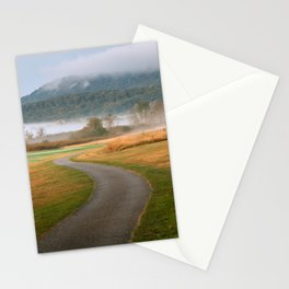 Misty Dawn Golf Course Stationery Cards