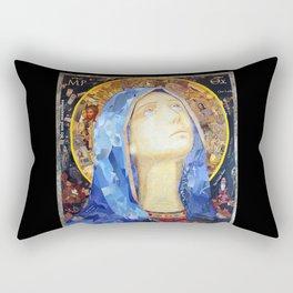 Our Lady of Broken Pieces Rectangular Pillow
