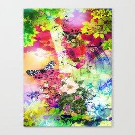 Floral Fantasy 7 Canvas Print