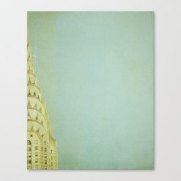 Top of the City - NYC Canvas Print