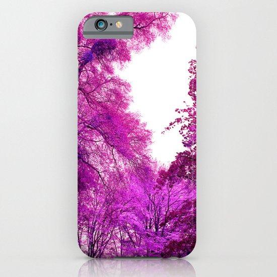 purple trees II iPhone & iPod Case