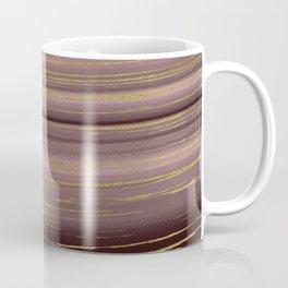 Gold strands Coffee Mug