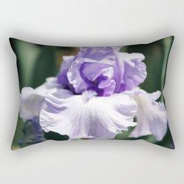 Lavender Iris Rectangular Pillow