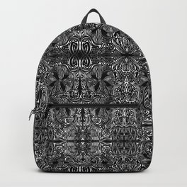 Mirrored, Mirrored Print on the Wall Backpack