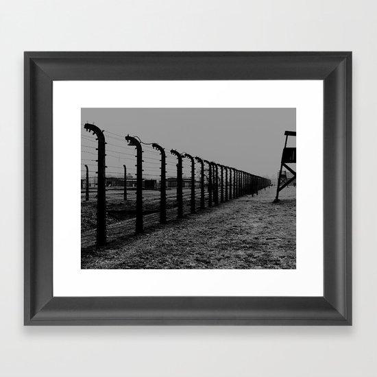 Auschwitz 05 Framed Art Print