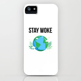 Happy Flat Earth Day Funny Design iPhone Case