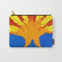 Arizona Flag (Poured Acrylic Style) Carry-All Pouch