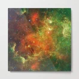 424. Swirling Landscape of Stars Metal Print