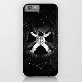 Gravity Snow Angel iPhone Case