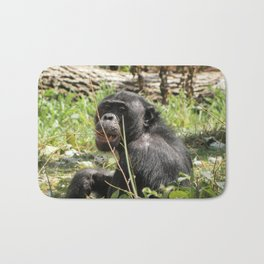 Grin Chin Chimp Bath Mat