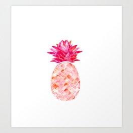 Hala Kahiki Pink Art Print