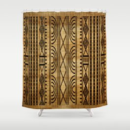 African Weave Shower Curtain
