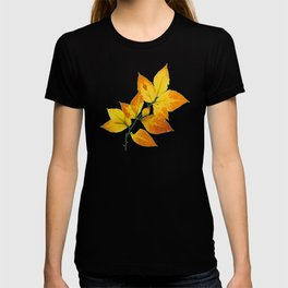 Autumn Leaves Azure Sky T-shirt