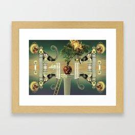 Rotting Fruit Framed Art Print