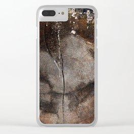 Stump 20 Clear iPhone Case