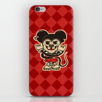 rat iPhone & iPod Skins featuring Rat by Shunshoo