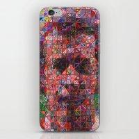 arsenal iPhone & iPod Skins featuring Brady by ArsenalArtz
