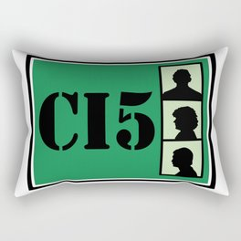 CI5 - The Professionals - Bodie & Doyle Rectangular Pillow