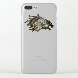 Sher (Lion) Clear iPhone Case