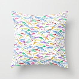 Snook Many Fish - Throw Pillow