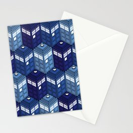 Infinite Phone Boxes Stationery Cards
