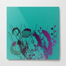 turquoise underwater Metal Print