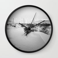 giants Wall Clocks featuring among giants by Bonnie Jakobsen-Martin