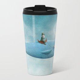 Whale Rider  Metal Travel Mug