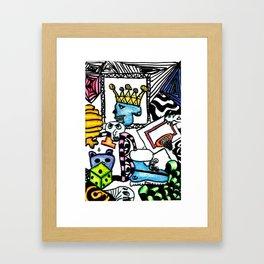 Just Doodle Framed Art Print