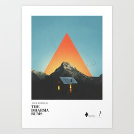The dharma bums Art Print