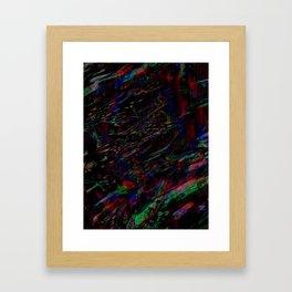 Laced Framed Art Print