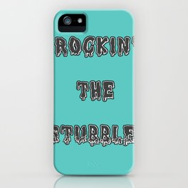 stubble! iPhone Case