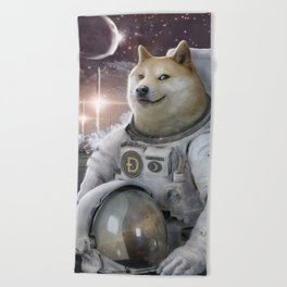 Very Astronaut Beach Towel