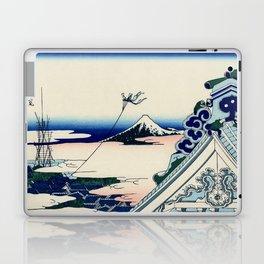 "Hokusai (1760-1849) ""Asakusa Hongan-ji temple in the Eastern capital [Edo]"" Laptop & iPad Skin"
