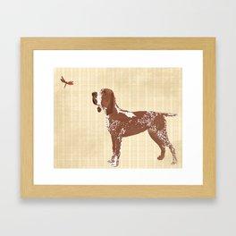 Bracco Italiano Dog Framed Art Print