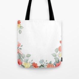 Pretty Pumpkin Patch Tote Bag